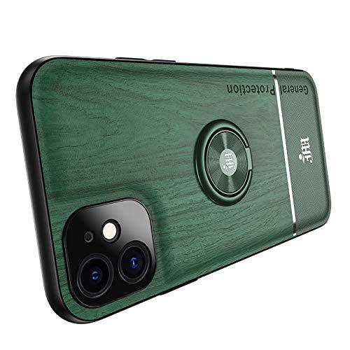 Yesun K - Soporte magnético para iPhone 12 Mini Pro Max (protección de cámara cuadrada, color verde, para iPhone12 Mini 5,4 pulgadas)