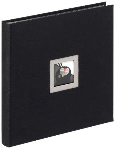 Walther, Black & White, Álbum De Fotos, FA-217-B, 30x30 cm, 50 Páginas Negras, Negro