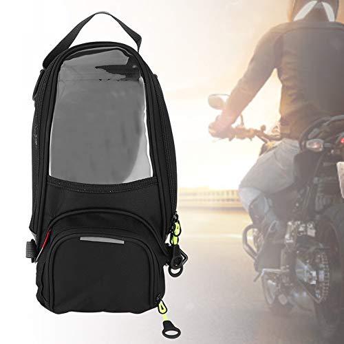 ROSEBEAR Bolsa de Sillín Bicicleta Motocicleta Mochila Bolsa de Tanque de Combustible Impermeable Accesorios de Ciclismo para Hombres