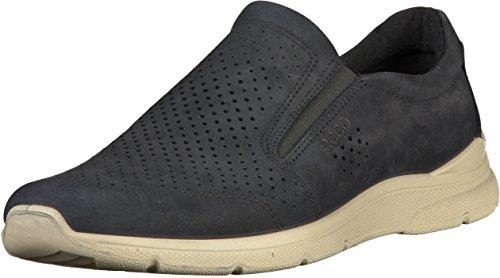 Ecco Herren IRVING Slip On Sneaker, Blau (Navy 2058), 45 EU
