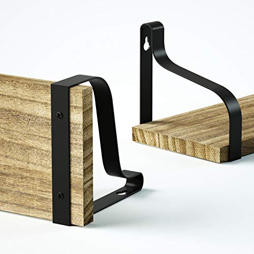Love-KANKEIウォールシェルフウォールラック壁掛け棚飾り棚収納棚天然木製ネジ付き3個セット調理器具生活雑貨整理整頓