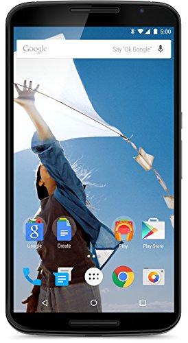 Motorola Nexus 6 Smartphone (6 Zoll (15,2 cm) Touch-Bildschirm, 32 GB Speicher, Android 5.0 Lollipop) weiß