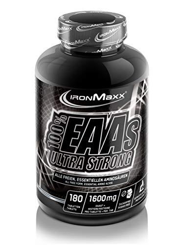 IronMaxx 100% EAAs Ultra Strong, 180 Tabletten