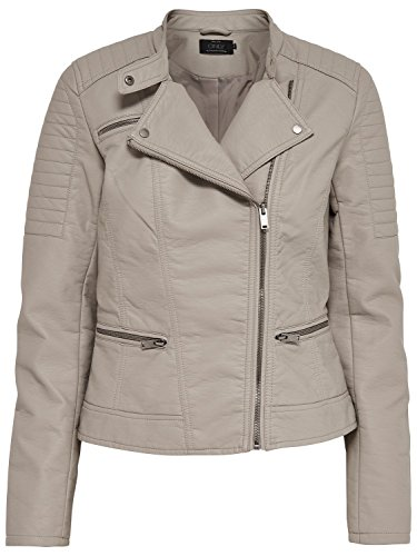 ONLY Damen Jacke Onlnew Start Faux Leather Biker CC OTW