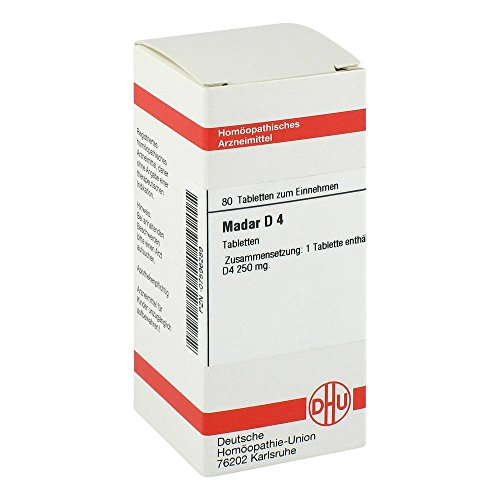 MADAR D 4 Tabletten 80 St