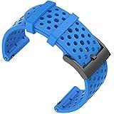 Shieranlee Compatible with Suunto 9 Spartan/Suunto 7 Correa,24MM Silicona Sport Watch Band Fitness Band para Suunto 9/Suunto...