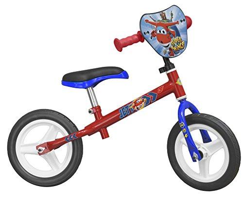 """TOIMSA–126–Bicicleta sin Pedales para niños–10""""–Super Wings–de 3años–Rojo–-Rojo"""