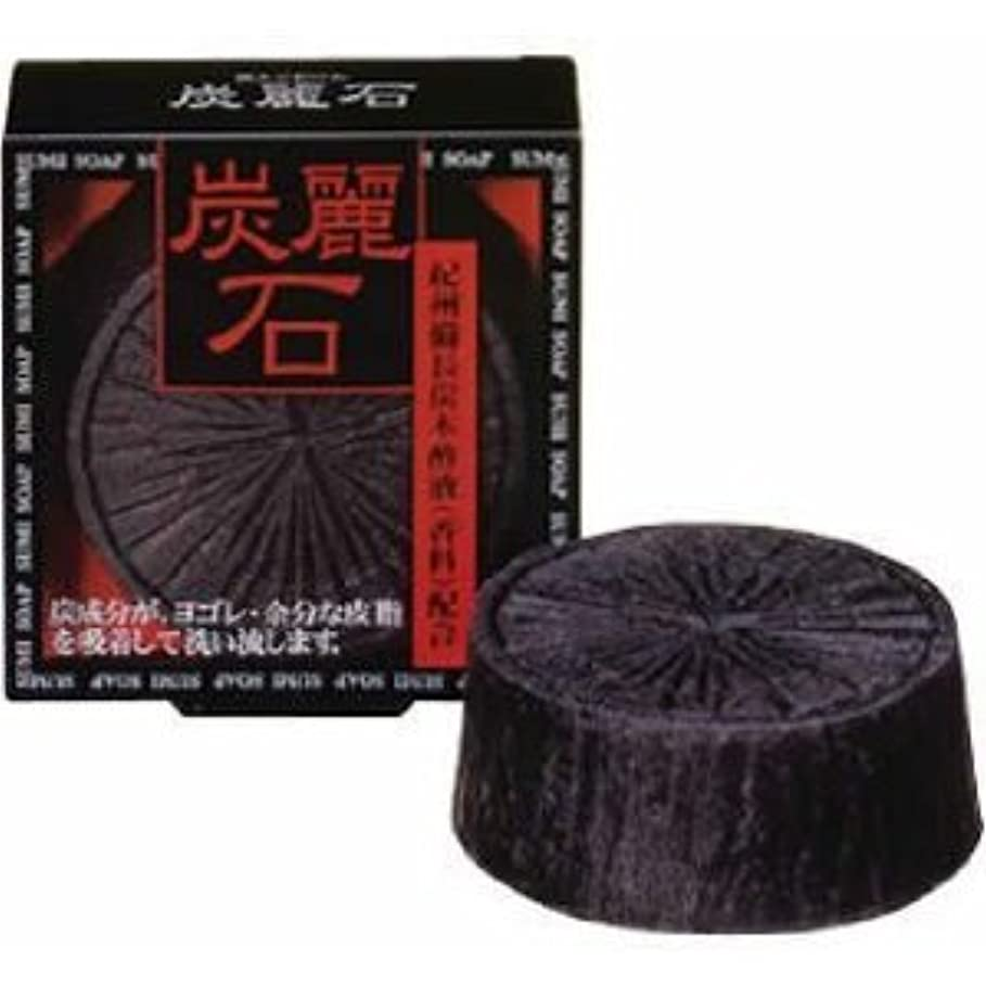 深い側溝レコーダー炭麗石石鹸×3