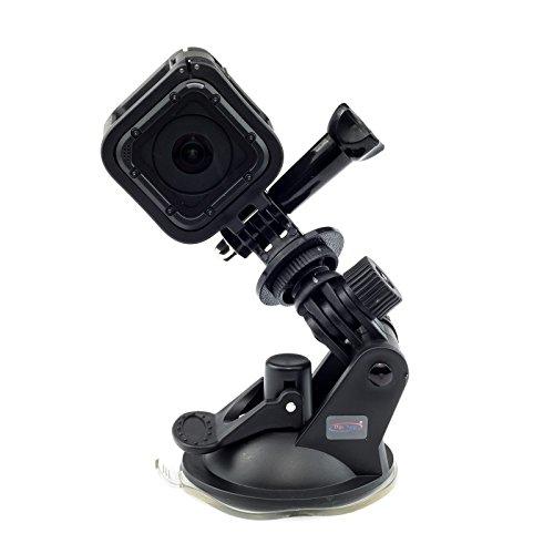 Soporte Ventosa Montaje coche Para Go Pro Hero7 7 Hero6 6 4K Hero 4 Session Mini Hero 5 4 3+ 3 2 1 Action Camera Cam HD