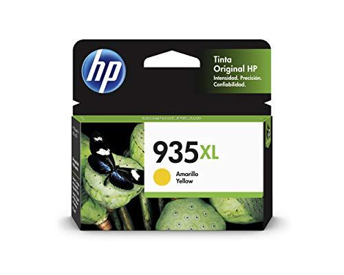 HP 935XL C2P26AE, Amarillo, Cartucho de Tinta de Alta Capacidad Original, compatible con impresoras de inyección de tinta HP OfficeJet 6820; HP OfficeJet Pro 6230, 6830