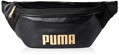 PUMA Women's Royale PU Hip Sack, black/Gold, One Size