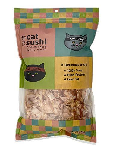 Presidio Cat Sushi Classic Cut Bonito Flakes, 4 oz