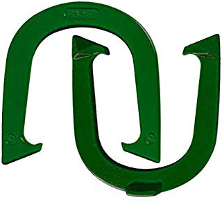 Light Weight Cadet Pitching Horseshoes - NHPA Sanctioned for Tournament Play - Drop Forged Steel - One Pair (2 Shoes)