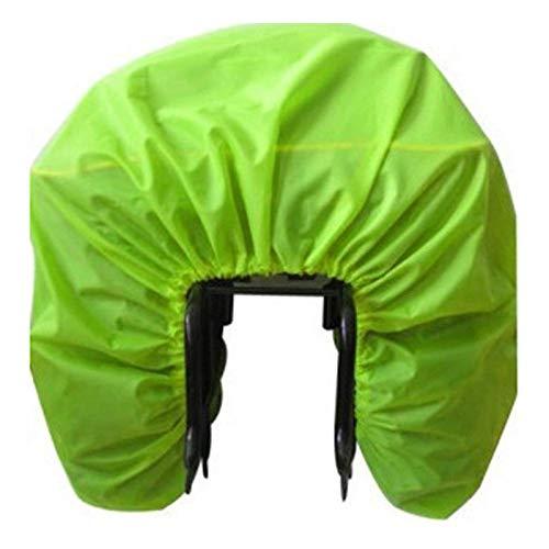XINTUON Cubiertas de lluvia de bicicleta impermeable asiento trasero portátil anti nieve almacenamiento proteger la bicicleta fácil de empacar