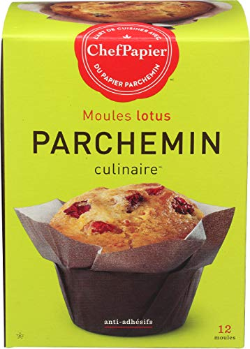 Paper Chef Parchment Cup Lotus 12 Count (Pack of 6)