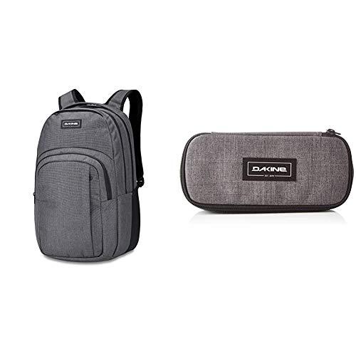 Dakine Campus Rucksack, Daypack Tagesrucksack für Schule, Arbeit und Uni, Sportrucksack und Schultasche mit Laptopfach und Rückenpolster, 33L & Unisex School Case Standard Zubehör , Carbonii