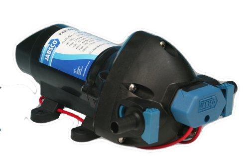 Jabsco 31295-0092 Marine ParMax 1.9 Bomba de sistema de presión de agua, 1.9 GPM, 25 PSI, 12 voltios