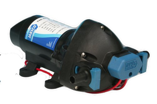 Jabsco 31295-0092 Marine ParMax 1.9 Water Pressure System Pump, 1.9 GPM, 25 PSI, 12 Volt