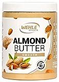 Mandelbutter – Premium Mandelmus – Wehle Sports Almond Butter natürliches Nussmus veganer/...