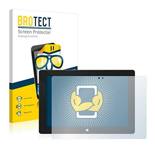 BROTECT Schutzfolie kompatibel mit One Xcellent 10 (2 Stück) klare Bildschirmschutz-Folie