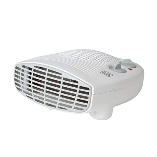 BLACK+DECKER BXSH37005GB Fan Heater with Climate Control, 2 kW, White