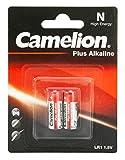 Camelion 11000201 - Pack de 2 baterías alcalinas, 1.5 V