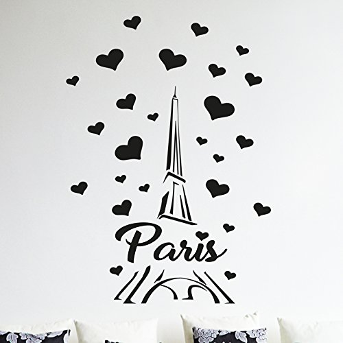 Wall4Stickers Sticker mural en vinyle Paris - Tour Eiffel