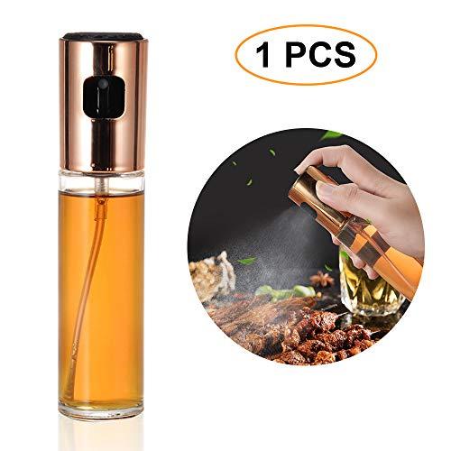 Souarts Öl Sprayer Ölsprüher Ölspender Sprühflasche Auslöser für BBQ Brot Backen Küche Kochen Essig Spender Flasche 100ML