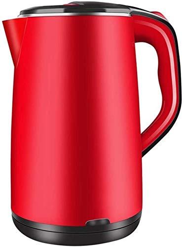 Bouilloire induction Théière rouge bouilloire électrique bouilloire en acier inoxydable bouilloire bouilloire d'eau sans fil électrique bouilloire électrique bouilloire chauffe-thé WHLONG