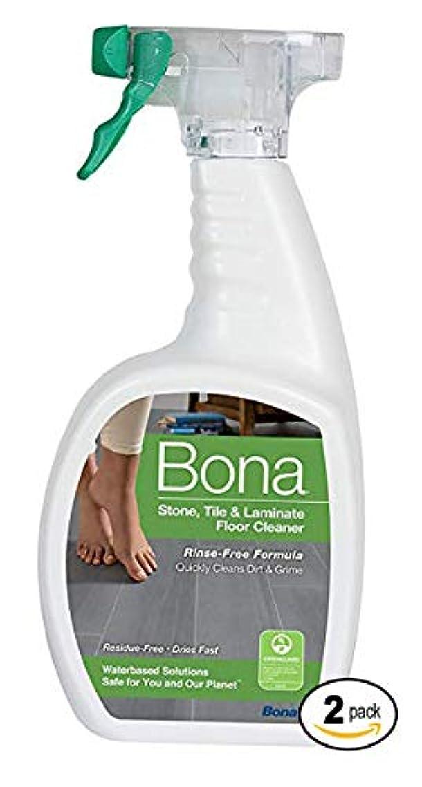 Bona Stone, Tile & Laminate Floor Cleaner Spray, 32 oz,2-Pack