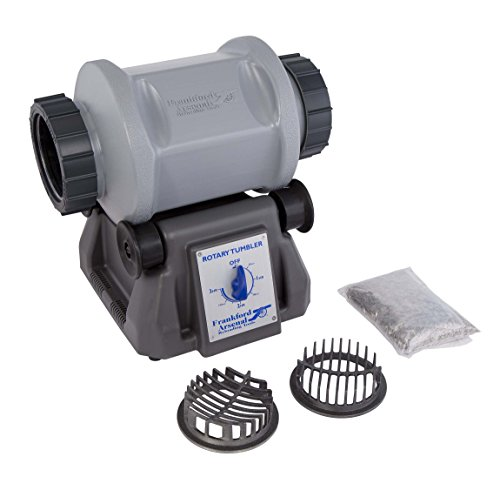 Frankford Arsenal Platinum Series 110V 7L Rotary Tumbler and Media Separator for Cleaning and Polishing for Reloading