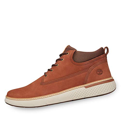 Timberland Men's Cross Mark PT Chukka Cognac 9.5 D US