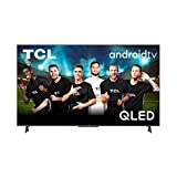 TCL 55C725 - Televisor 55 Pulgadas QLED, TV con Resolución 4K HDR Pro, HDR Multi-Format, Game Master, Sonido Onyko con Dolby Atmos, Android TV, Hands-Free Google Assistant, Amazon Alexa