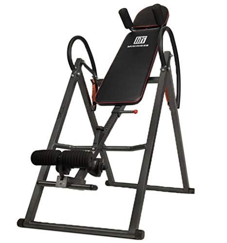 Fantastic Prices! Heavy Duty Adjustable Inversion Therapy Table with Protective Shoulder and Handrai...