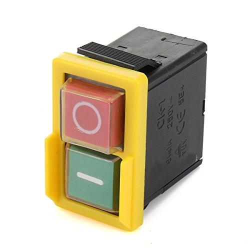 Inovey Kjd 6 Universal Ersatz Schalter 250V 4A Schalter Not-Halt-Schalter