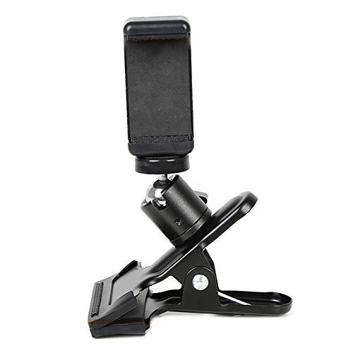 Guitar Bass Head Phone Holder Live Broadcast Bracket Clip for iPhone Samsung Smart Phones (Guitar Head Phone Holder)