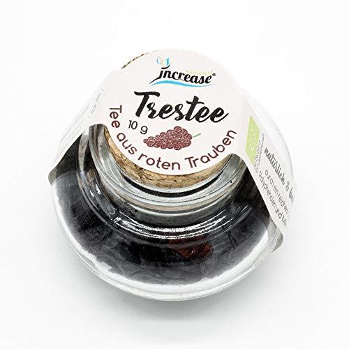 Trestee Bio Tee 10 g - Tee aus roten Trauben - Alle Inhaltsstoffe Bio zertifiziert & Vegan
