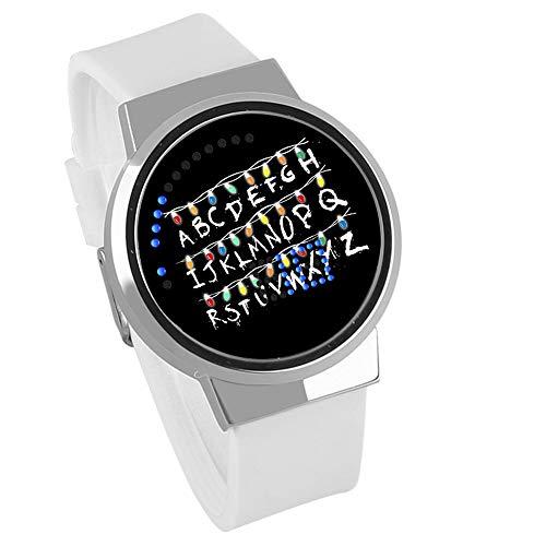 Stranger Things Reloj LED Pantalla táctil Reloj Pulsera impermeable Regalo creativo