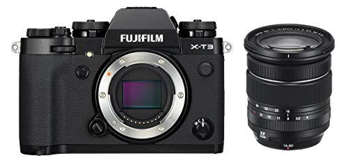 Fujifilm X-T3 Cámara Digital sin Espejo color Negro, con Fujinon XF16-80 mm F4 R W