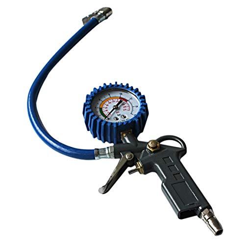 SeniorMar-UK DBSUFV Herramienta de Control de Pistola de inflado de neumáticos Multifuncional para Coche, camión, inflador de presión, medidor de dial, medidor de dial, probador de vehículos