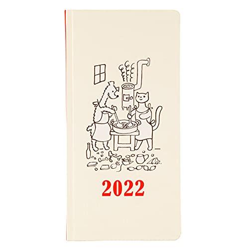ほぼ日手帳 2022 weeks ヨゼフ・チャペック/こいぬとこねこ 1月始まり 週間手帳