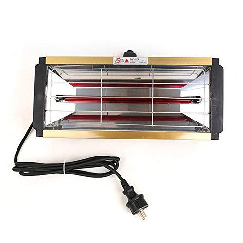 OPIN 1000W Autolacklampe, Autolacklampe Mobile Kurzwellige Einstellbare Temperatur Autolacklampe, Zum Heizen Von Häusern Und Zum Beschlagen Von Autofenstern