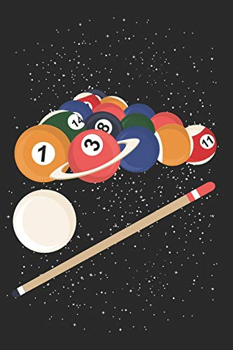 Schedule Planner 2020: Schedule Book 2020 with Billiard Cover | Weekly Planner 2020 | 6