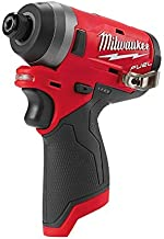 Milwaukee MILM12FID0 ATORNILLADOR DE IMPACTO 12 V FUEL 1/4 HEX 147 NM, VER-0