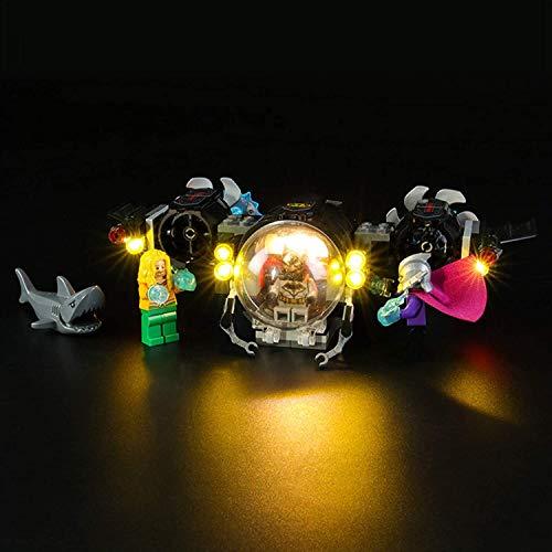 JIALI LED-Beleuchtungsset für Lego 76116 DC Super Heroes Batman Batsub und das Unterwasserbausteinmodell...