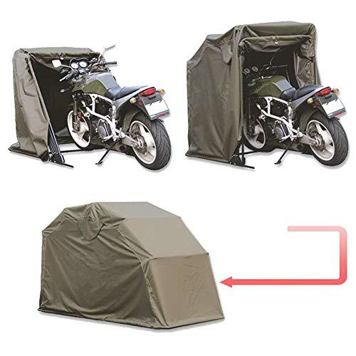 XIONGGG Motorbike Folding Cover Outdoor Tent Garage Motorcycle Motor Bike Shed Storage Weatherproof Shelter