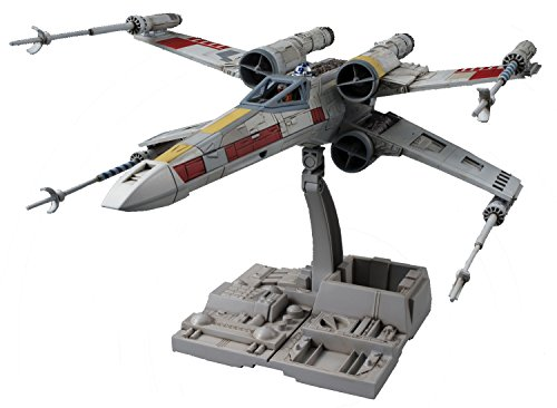 Bandai - Star Wars X-Wing Starfighter 1:72, Kunststoff-  Model-Kit