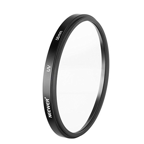 Neewer 58mm UV Lens Filter for Digital SLR Cameras