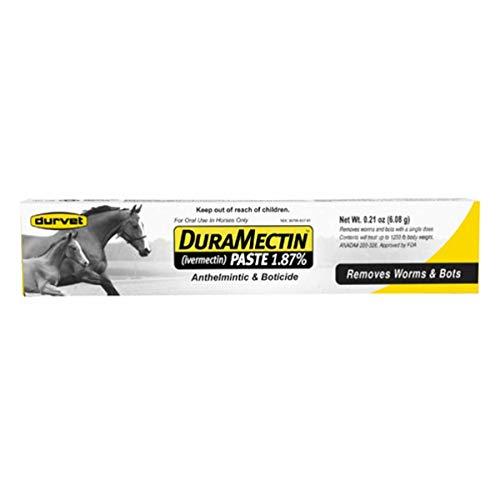 Duramectin Ivermectin Paste 1.87% for Horses, 0.21 oz
