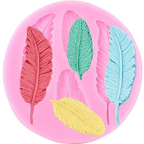 LIUXIYUANG Birds Feathers Lace Border Silicone Molds Wedding Cupcake Topper Fondant Cake Decorating Tools Candy Chocolate Gumpaste Moulds